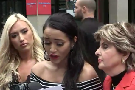 Rosa is the sixth cheerleader to accuse the team of mistreatment (KHOU)