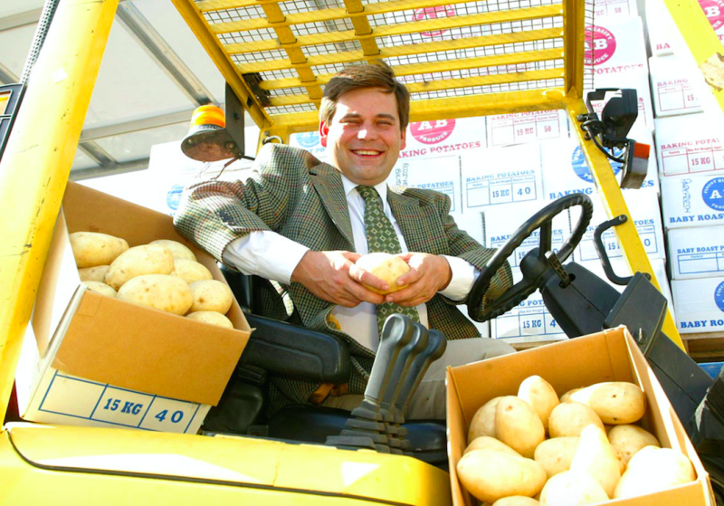 Andrew Bridgen said he had been frozen out of his family farming business (Picture: Rex)
