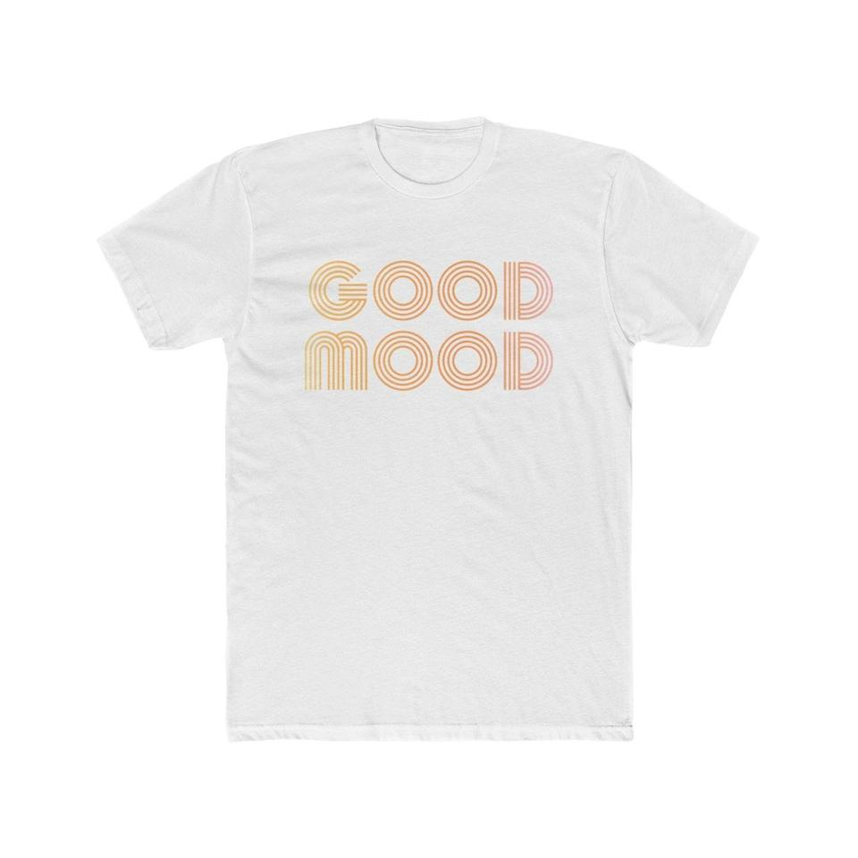 <p>This <span>Good Mood T-shirt</span> ($15 and up) is an instant mood booster.</p>