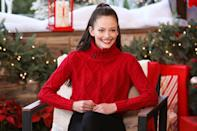 <p><i>Twilight</i> actress Mackenzie Foy stops by Hallmark Channel's <i>Home & Family</i> on Monday in Hollywood. </p>