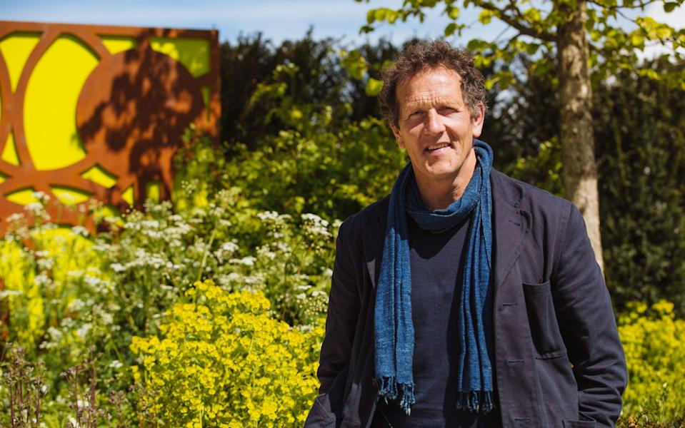 Monty Don has some choice words for men who like to obsessively mow their lawns - Richard Hanmer