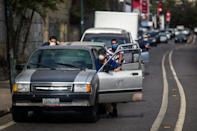 Venezuela's severe gasoline shortage that these Caracas residents endure poses special problems for the vaccine distribution in that crisis-wracked country