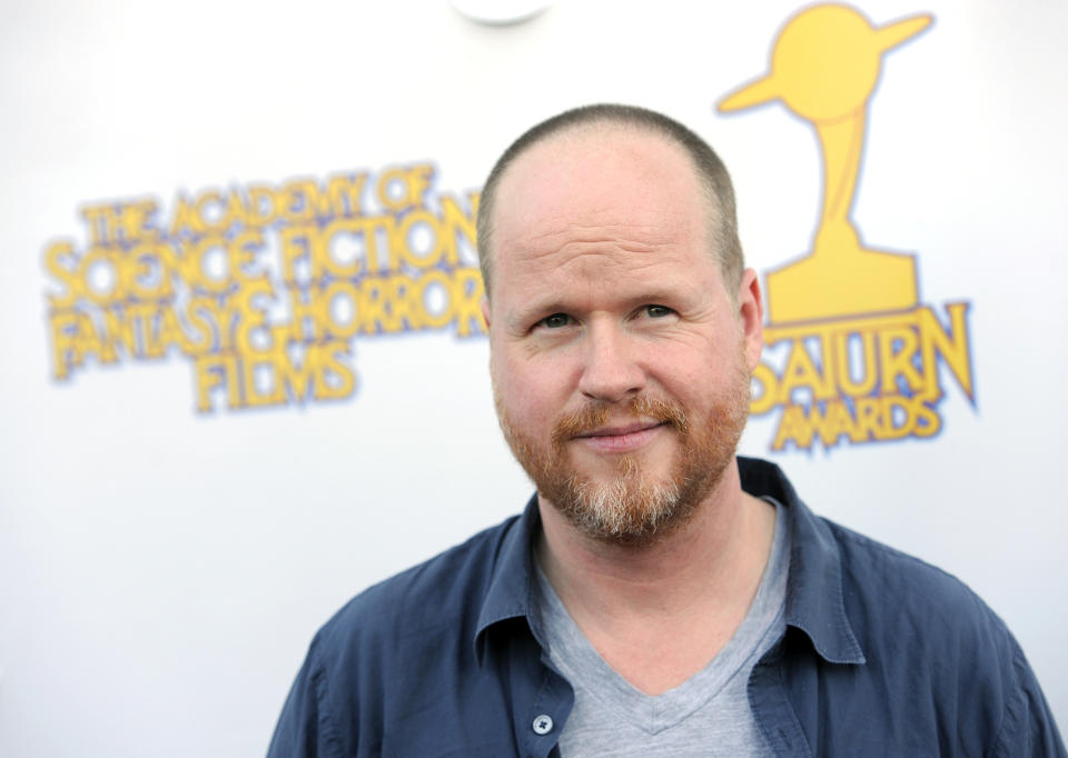 Joss Whedon poses at the 39th Saturn Awards at The Castaway on Wednesday, June 26, 2013 in Burbank, Calif. (Photo by Chris Pizzello/Invision/AP)