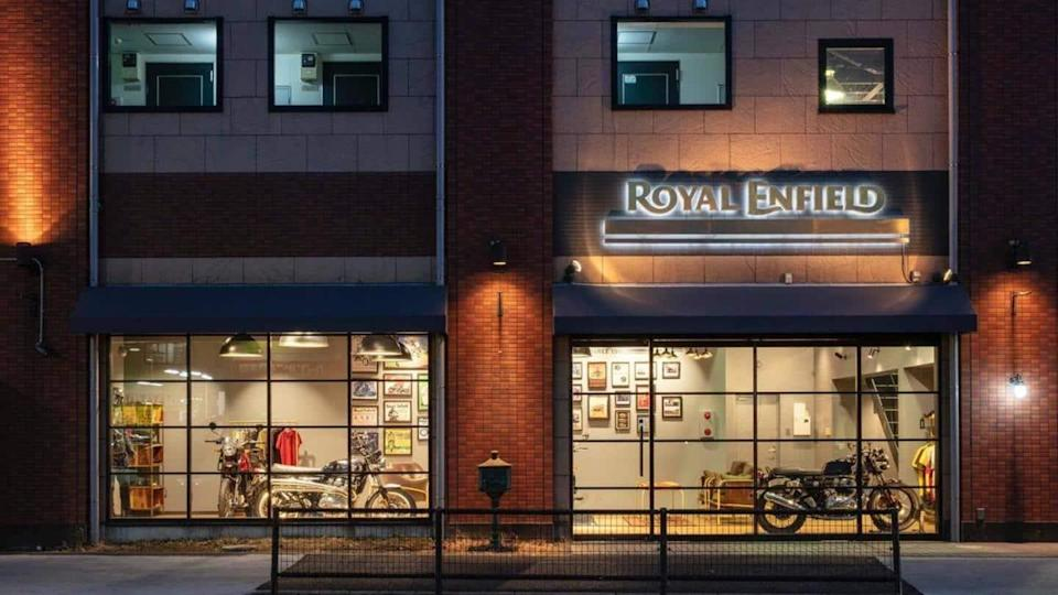 Royal Enfield debuts in Japanese market with five models