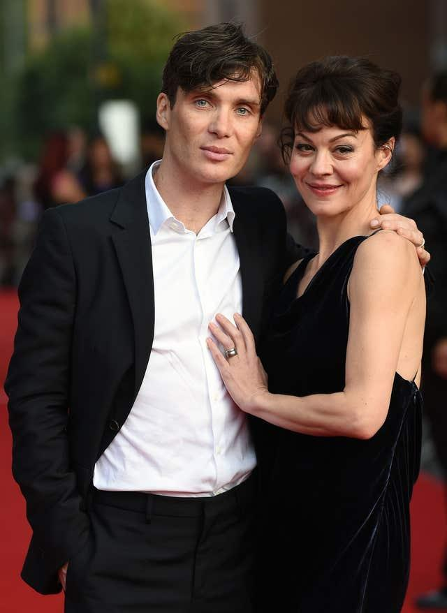 McCrory with Peaky Blinder's co-star Cillian Murphy