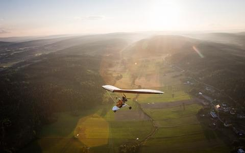 a micro light - Credit: Folio Images
