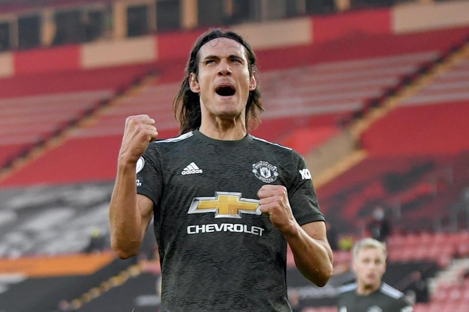 <p>On point: Edinson Cavani scored twice last week</p> (AP)