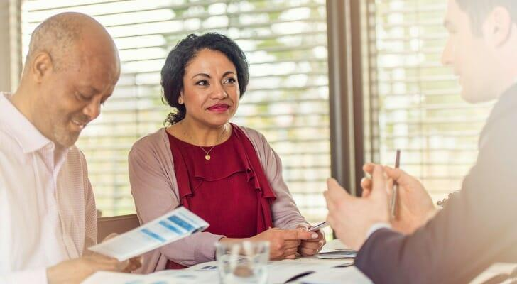 What does an investment advisor representative do?