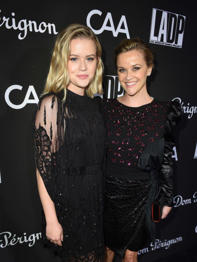 <p>Co-ordinating in black, Ava and Reese attended the LA Dance Project Gala at Hauser & Wirth, Los Angeles.</p>