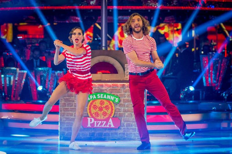 Survival: Seann Walsh and Katya Jones on Strictly Come Dancing (BBC/Guy Levy)