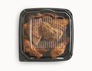 El Pollo Loco's famous fire-grilled chicken stays hotter for a fresh-from-the-grill taste in every bite.
