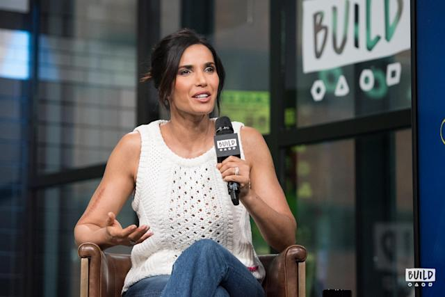 Padma Lakshmi at the Build Studio on March 12. (Photo: Mike Pont)