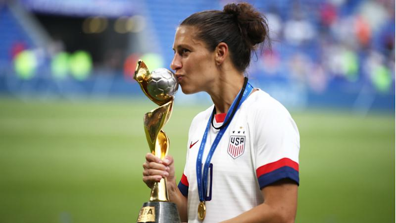 Carli Lloyd won't rule out retirement after helping USWNT win World Cup