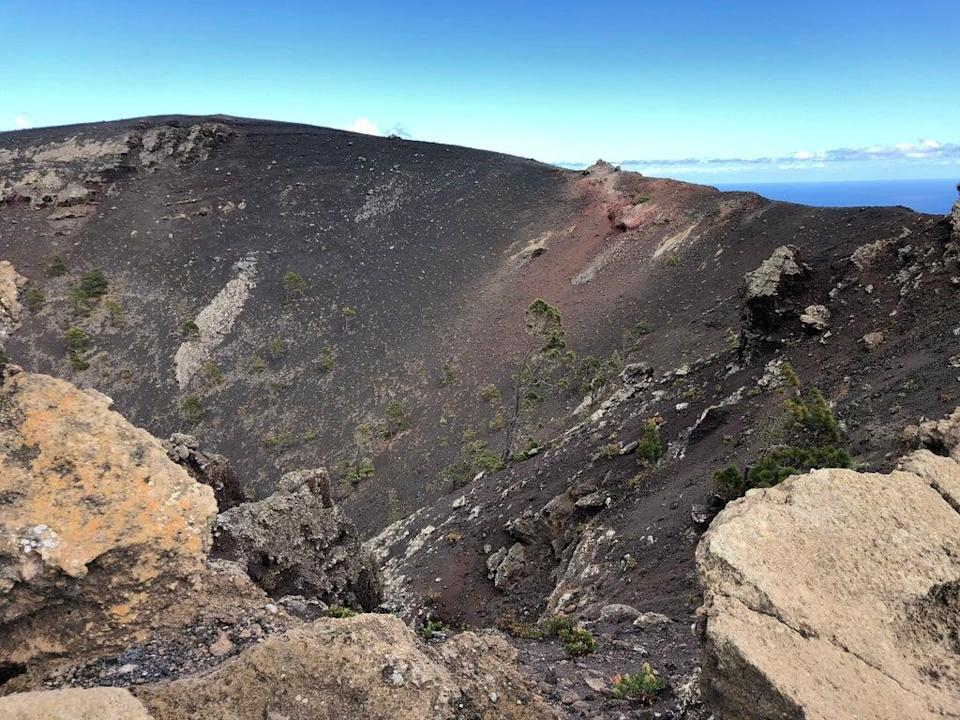 San Antonio Volcano. The volcanic chain last erupted in 1971 (The Independent)