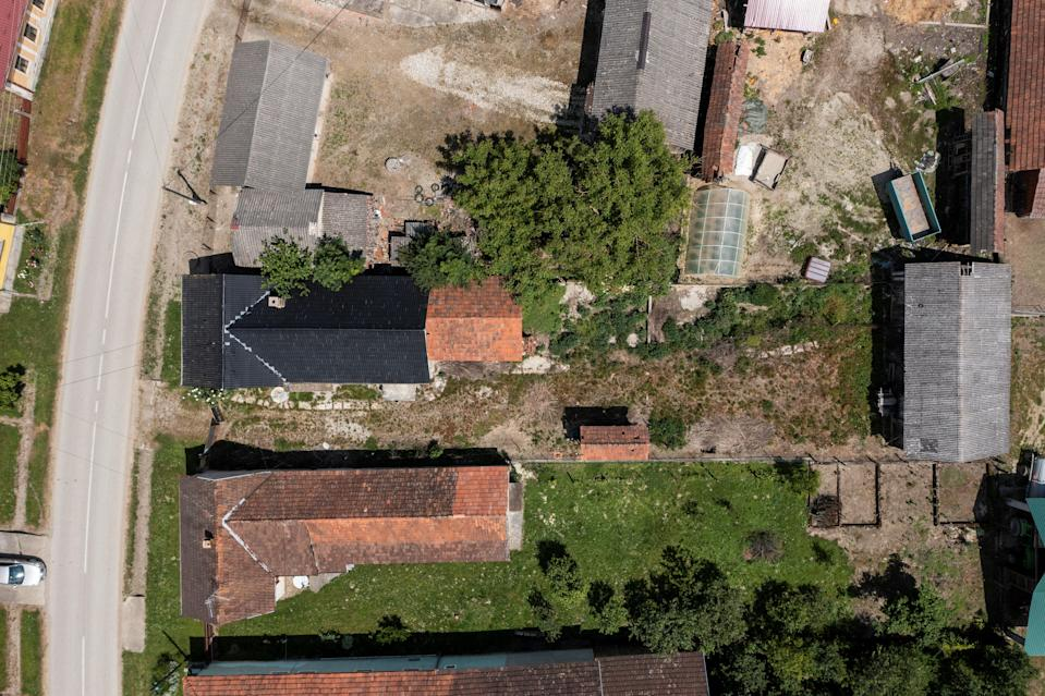 General view of a house for sale for 1 HRK in village Zablatje