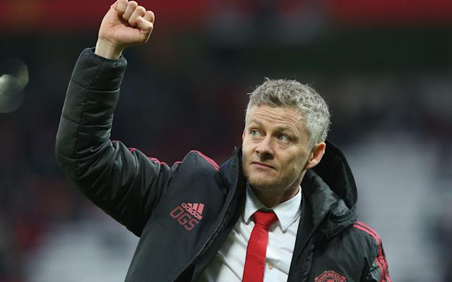 Ole Gunnar Solskjaer recorded his fifth straight win as United's caretaker manager against Reading - Manchester United