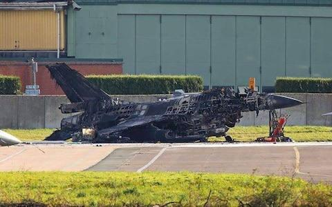 A maintenance worker accidentally fired a 20mm Vulcan cannon from an F-16 jet he was working on at Belgium's Florennes Air Force Base earlier this week, destroying another F-16 while damaging another aircraft nearby, according to Scramble Magazine