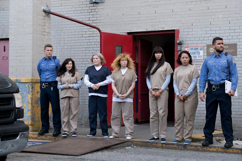 The cast of 'Orange is the New Black' face the final season together...and alone (Photo: Netflix)