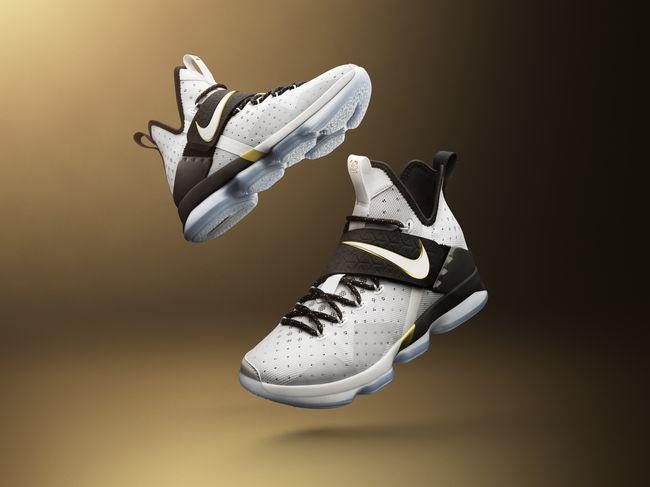 new product fb100 7f598 The special-edition LeBron 14. (Courtesy of Nike)