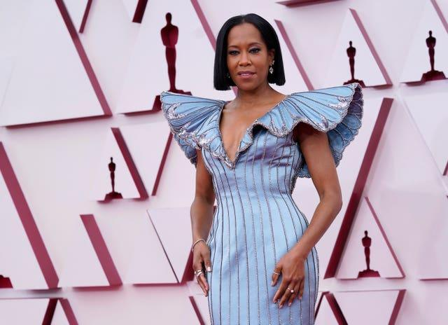 Regina King at the 93rd Academy Awards