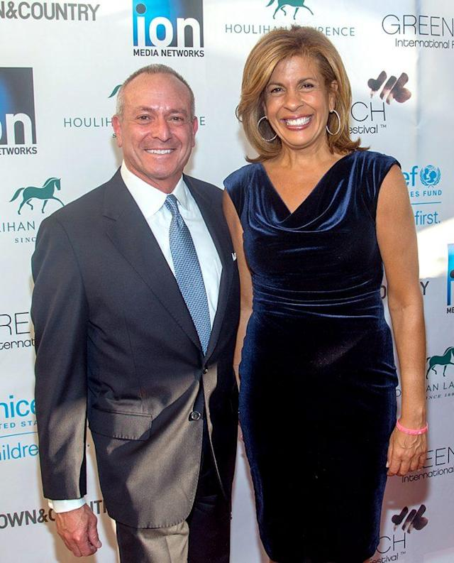 Joel Schiffman and Hoda Kotb are celebrating four years together and a new addition to the family. (Photo: Mark Sagliocco/WireImage)