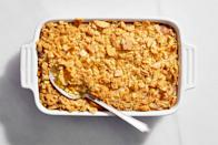 """When you come from a family of amazing cooks like I do, seeing what kind of dishes would come to the table was always exciting. Like this one—my grandmother's corn pudding. It's a savory side that's great hot out of the oven, or even cold for a quick midday snack. It brings back memories of seeing my granny placing it on the table at dinnertime and my later scooping spoonfuls of it from the fridge late in the night. <a href=""""https://www.epicurious.com/recipes/food/views/mississippi-corn-pudding?mbid=synd_yahoo_rss"""" rel=""""nofollow noopener"""" target=""""_blank"""" data-ylk=""""slk:See recipe."""" class=""""link rapid-noclick-resp"""">See recipe.</a>"""