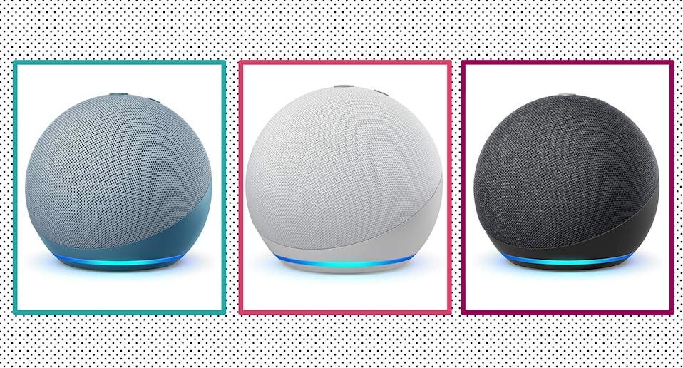 Amazon launch new range of Echo devices, and the bestselling Echo Dot has been given a makeover. (Amazon)