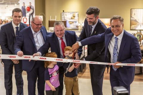 ADDING MULTIMEDIA The Brick Officially Opened New Interactive Flagship Store in West Edmonton Mall