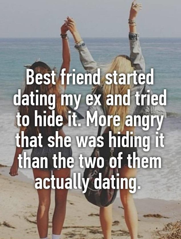 My best friend started dating my ex