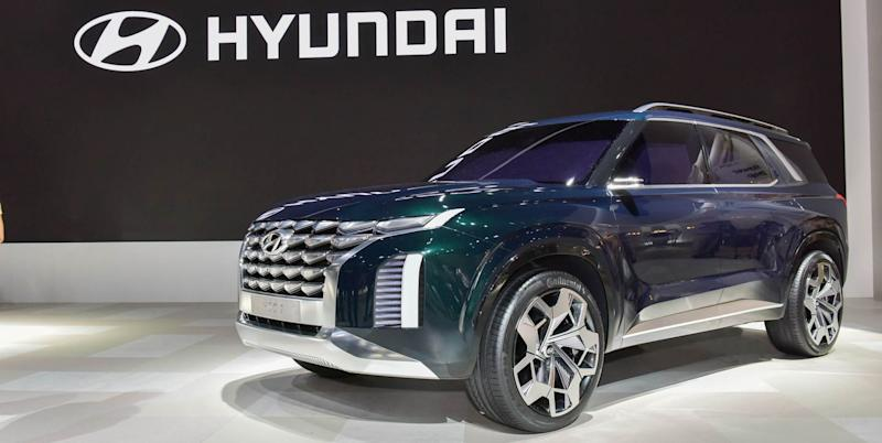 The 2020 Hyundai Palisade Is A Properly Big Three Row Suv