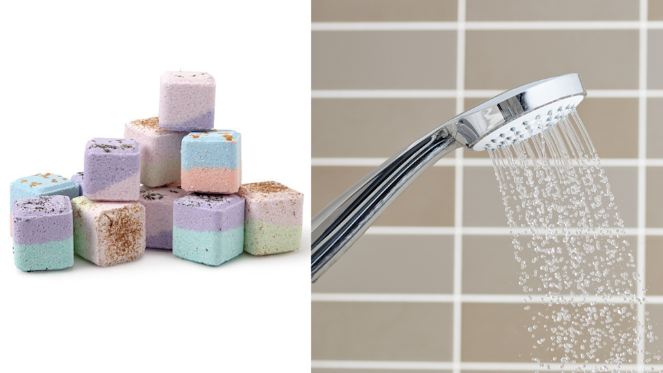 A hot shower mixed with some aromatherapy sounds like a great way to decompress.