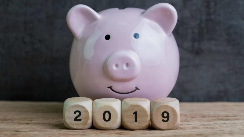 2019 Year of the Piggy Bank