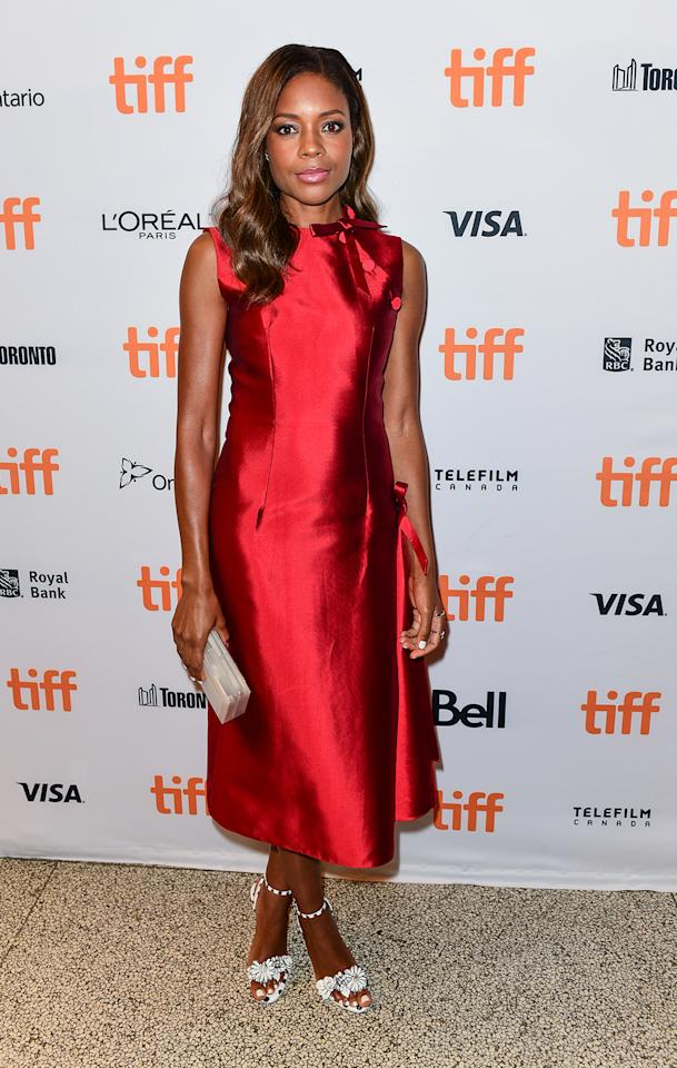 <p>Harris plays the emotionally abusive mom in the drama 'Moonlight.' Although the film debuts at the Telluride Film Festival, Harris kicks off her press tour at the Toronto Film Festival on Sept. 10, 2016. (Photo: Juanito Aguil/Getty Images) </p>