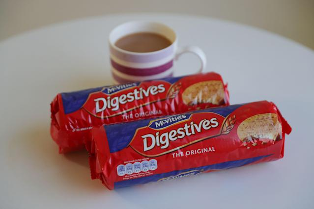 Shoppers spent extra £19m on biscuits last month this time last year. Photo: Daniel Leal-Olivas/AFP via Getty Images