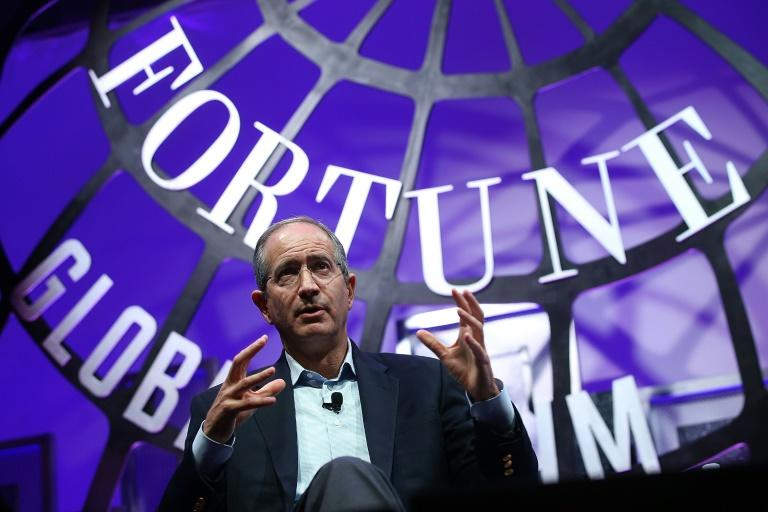 Comcast, whose CEO Brian Roberts is seen in at a 2015 conference, aims to outbid Disney for key film and television assets of 21st Century Fox