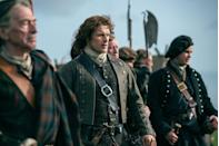"""<p><a href=""""http://www.heraldscotland.com/arts_ents/13213017.Meet_the_Outlander_super_fans/"""" rel=""""nofollow noopener"""" target=""""_blank"""" data-ylk=""""slk:The Outlander Bakers"""" class=""""link rapid-noclick-resp"""">The Outlander Bakers</a> are a group of Scottish super-fans who track down the cast on set to deliver them baked goods.</p>"""