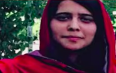 Screengrab: Silsila Alikhil, 26, daughter of Afghanistan's ambassador to Pakistan, Najibullah Alikhil was kidnapped and tortured before being released by unknown abductors  (OneIndia News)