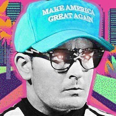 "Mackey used an avatar of Charlie Sheen's Ricky Vaughn character from ""Major League"" as his avatar on Twitter. (Photo: HTTPS://TWITTER.COM/RAPINBILL)"