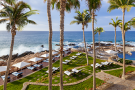 """<p>Located in the sun-drenched town of San Jòse del Cabo, the lovebirds are following in the footsteps of other celebs when it comes to picking this quaint Mexican getaway as their wedding destination.<br>Source: <a rel=""""nofollow noopener"""" href=""""https://www.oneandonlyresorts.com/one-and-only-palmilla-los-cabos"""" target=""""_blank"""" data-ylk=""""slk:One&Only"""" class=""""link rapid-noclick-resp"""">One&Only</a> </p>"""