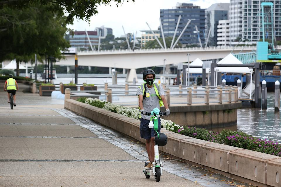 Brisbane has again gone into lockdown as Delta variant fears take hold. Source: Getty