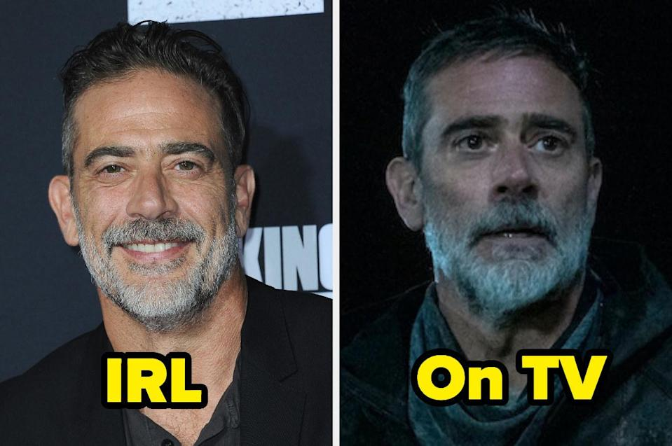 """<div><p>""""I love Jeffrey in pretty much everything he does, but his first episode as Negan completely ruined the show for me. I couldn't watch after that...that just speaks to how great an actor he is.""""</p><p>—<a href=""""https://www.buzzfeed.com/ag415"""" rel=""""nofollow noopener"""" target=""""_blank"""" data-ylk=""""slk:Ag415"""" class=""""link rapid-noclick-resp"""">Ag415</a></p></div><span> Getty Images / AMC</span>"""