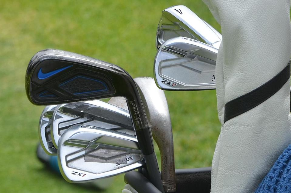 Brooks Koepka's irons at the 2021 U.S. Open