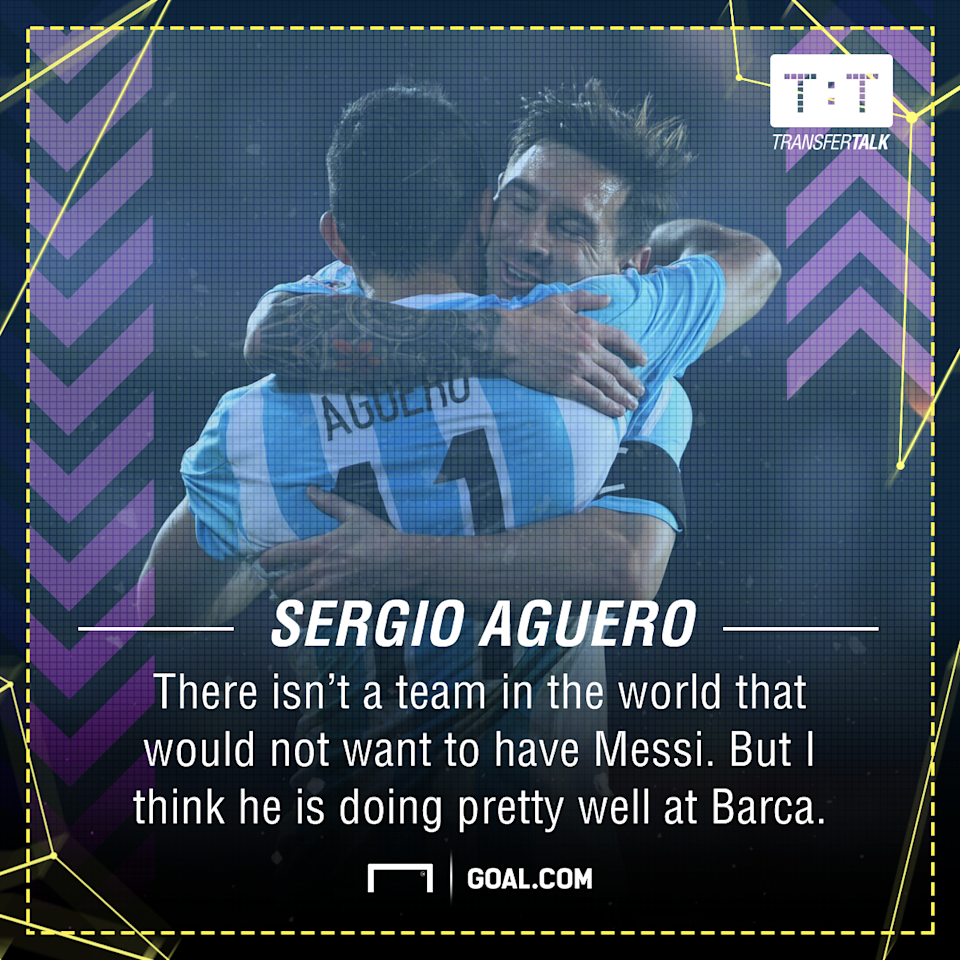 The Barcelona talisman is yet to commit to a new contract at Camp Nou, but his international team-mate with Argentina believes a deal will be struck