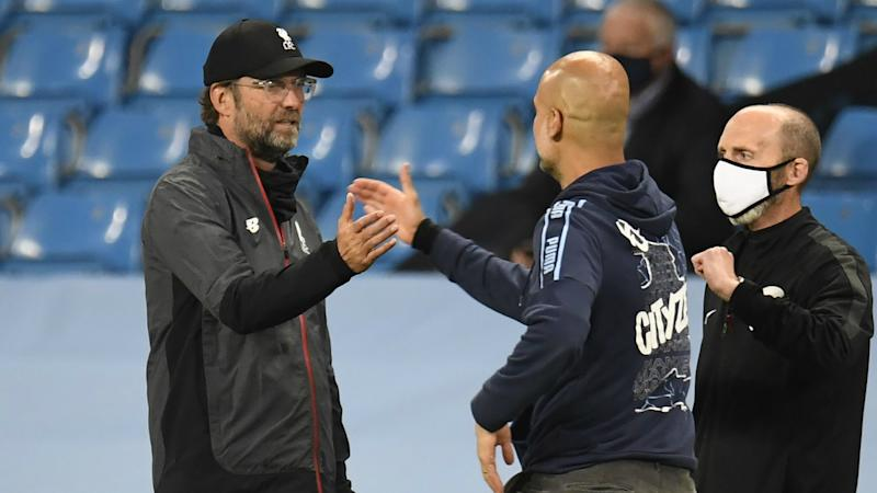 Tetchy Klopp defends Liverpool's attitude in Man City collapse