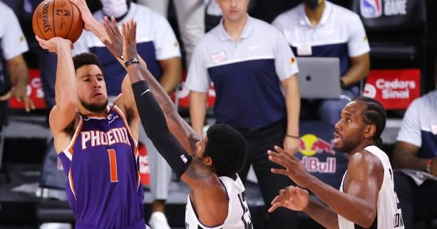 Basket - NBA - Devin Booker et Phoenix s'offrent les Los Angeles Clippers au buzzer