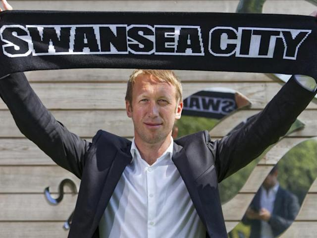 Graham Potter named Swansea manager: Former Ostersunds boss takes charge of relegated Premier League side