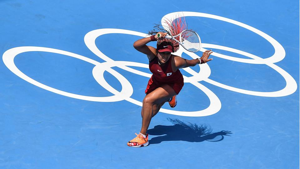 Naomi Osaka, representing the host country at the Tokyo Games, started of with a convincing victory Sunday.