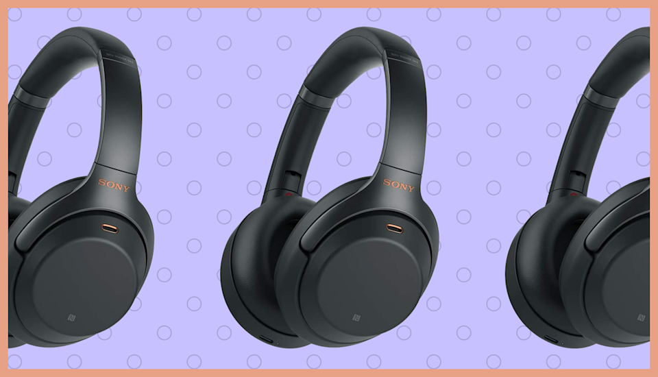 Save $102—Sony WH-1000XM3 Noise-Canceling Wireless Headphones, today only. (Photo: Sony)