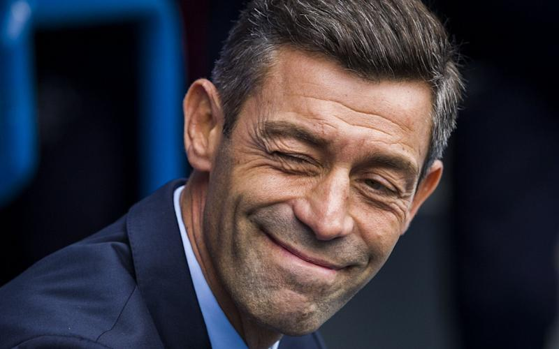 Pedro Caixinha is excited by the challenge at Rangers - Rex Features