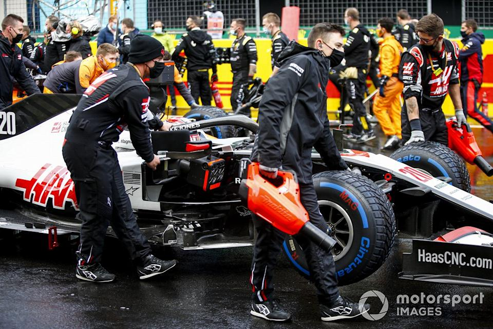 "Kevin Magnussen, Haas VF-20 <span class=""copyright"">Andy Hone / Motorsport Images</span>"